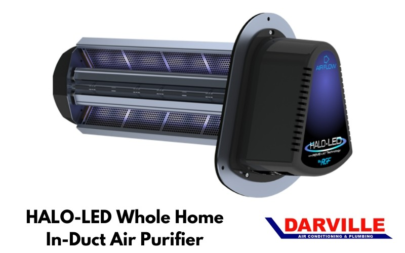 HALO-LED Whole Home In-Duct Air Purifier